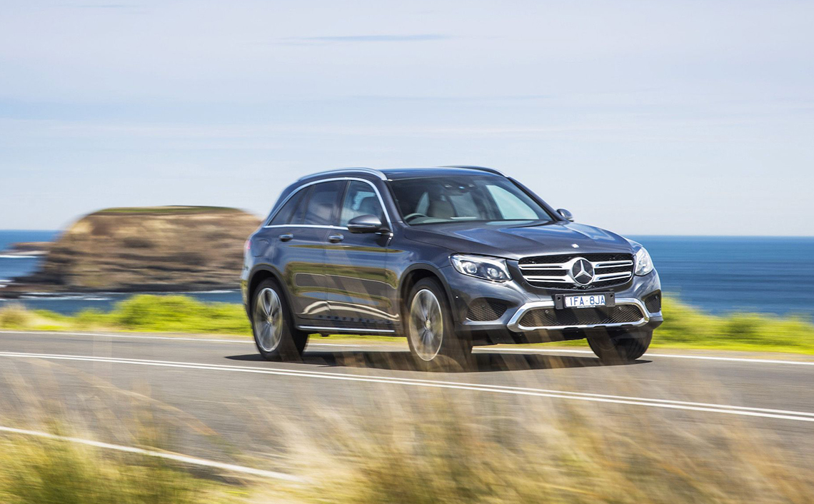 Accident Replacement Vehicle - Mercedes-Benz GLC