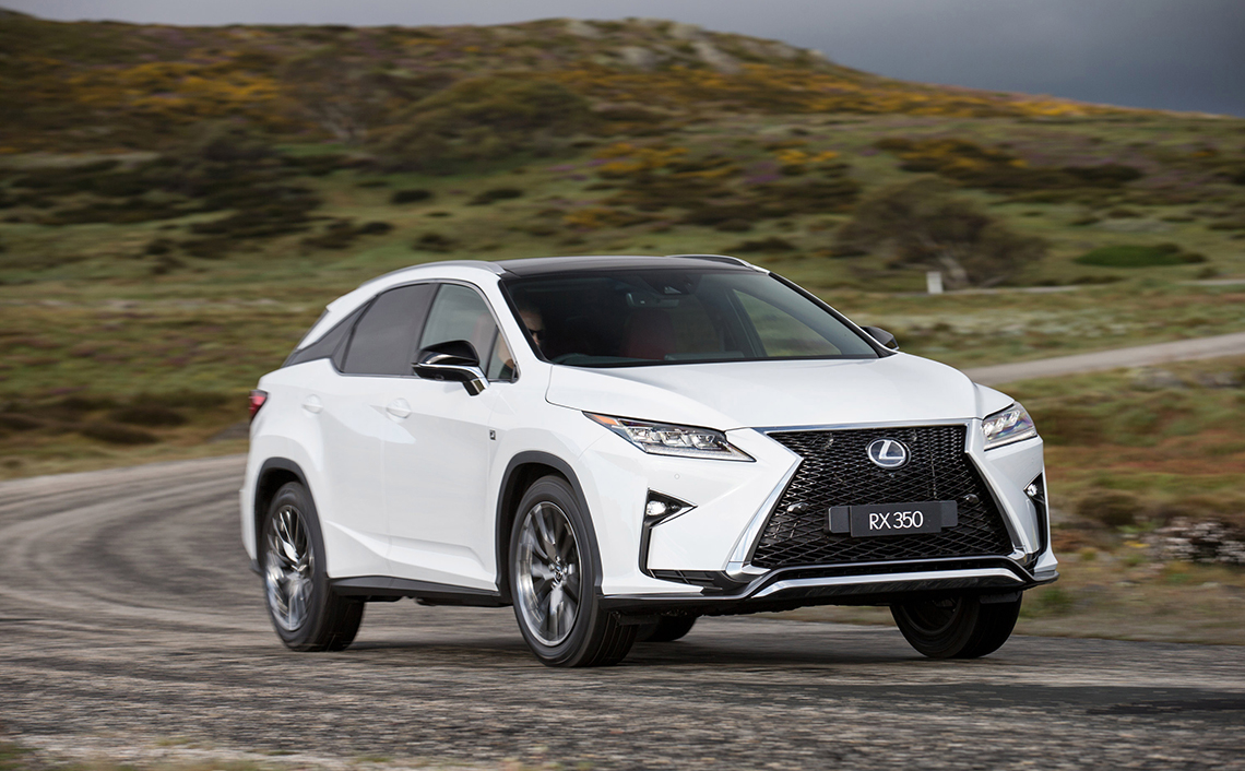 Accident Replacement Vehicle -  Lexus RX 200t